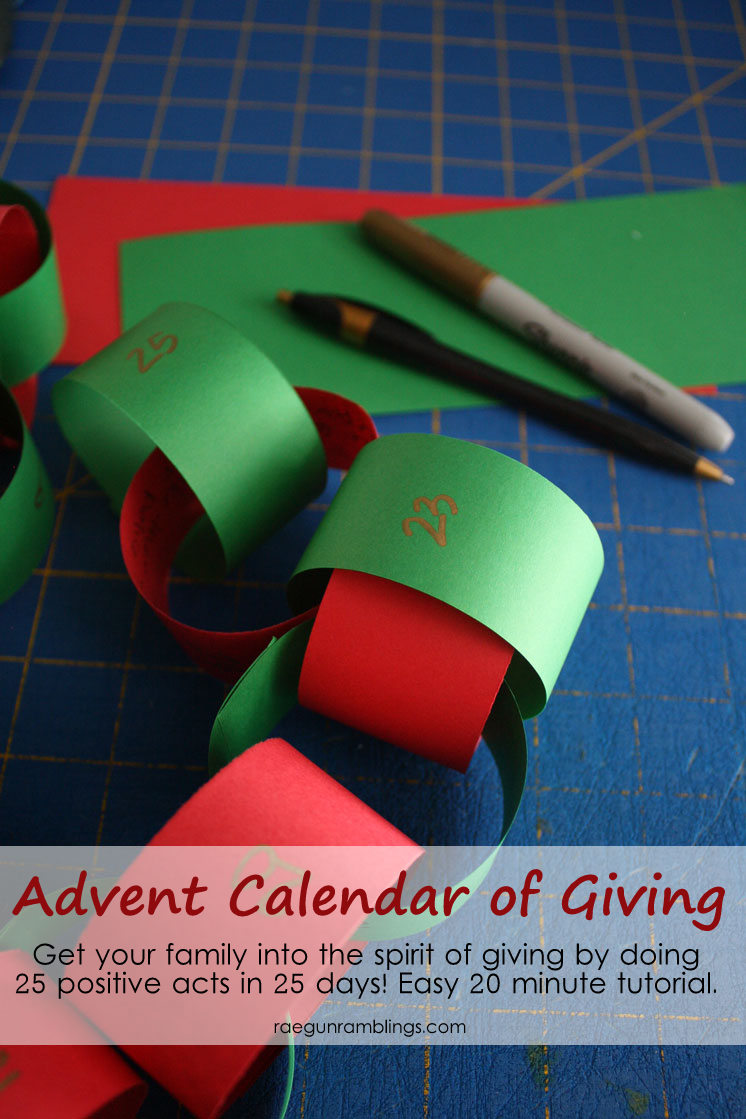 I LOVE this easy idea to teach about giving time and energy. DIY advent calendar tutorial
