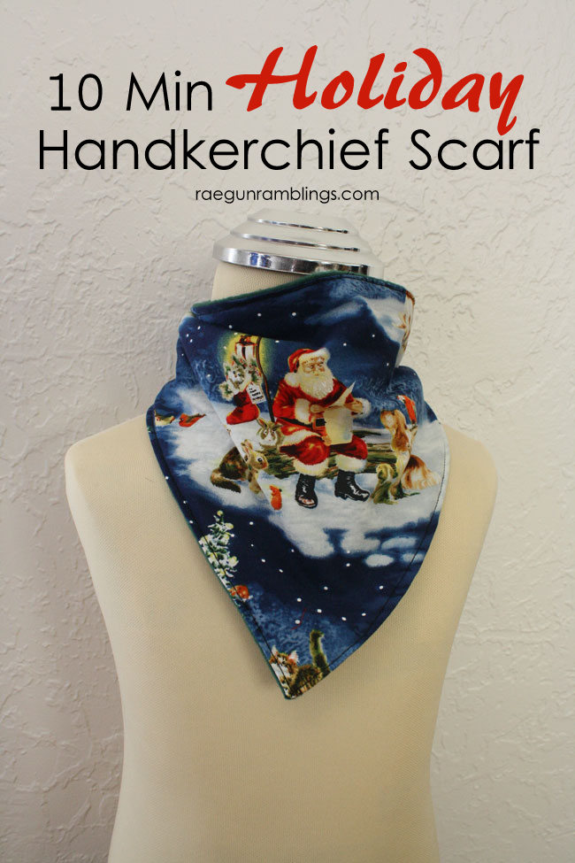 These scarves are the best! Easy 10 minute toddler scarf tutorial. Great Christmas gift ideas