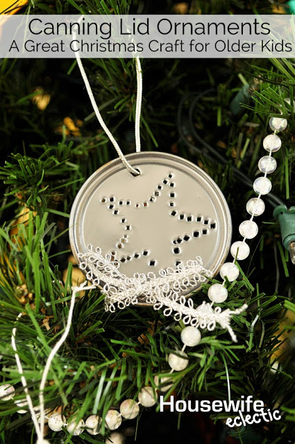 Fun ornament to make with older kids
