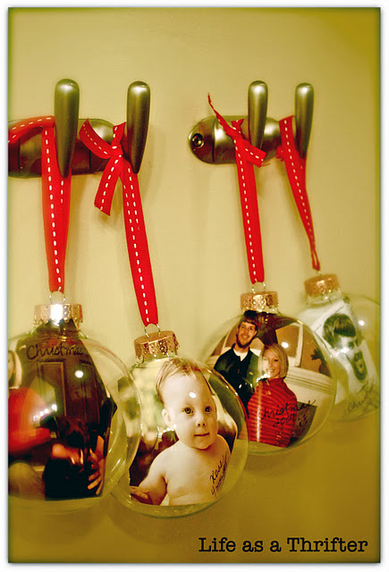 easy photo ornaments