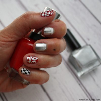 Grease Lightning Nails Tutorial and More Grease Projects
