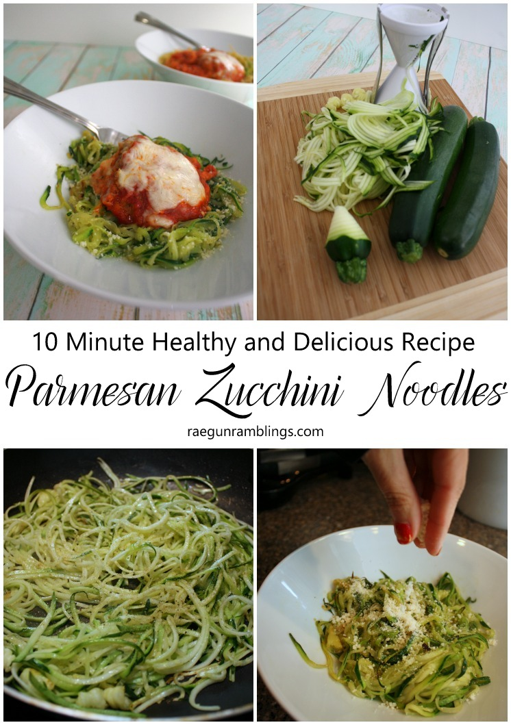I'm obsessed these 10 minute parmesan zucchini noodles are soooo easy and delicious. I've made them once a week since I discovered this recipe.