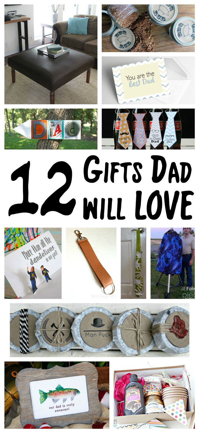 12 gifts dad will