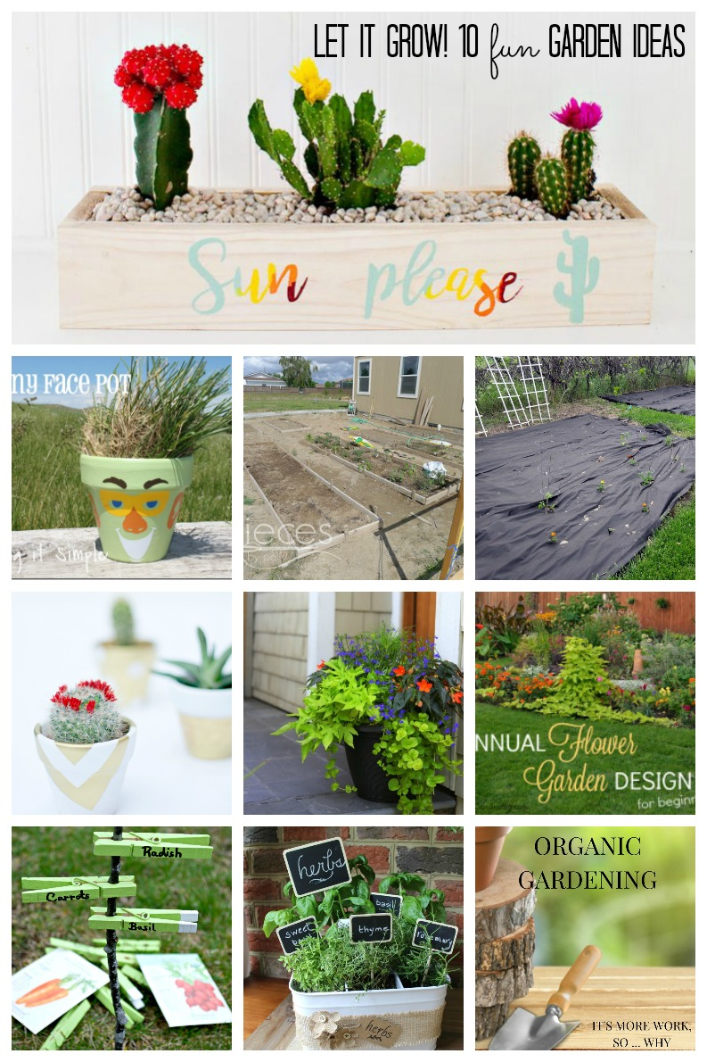 10 fabulous DIY garden ideas