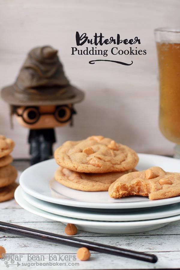 Butterbeer Cookies Recipe @SugarBeanBakers