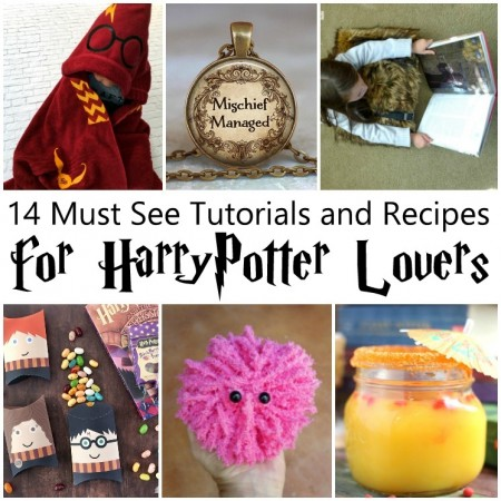 Loads of awesome Harry Potter tutorials and recipes