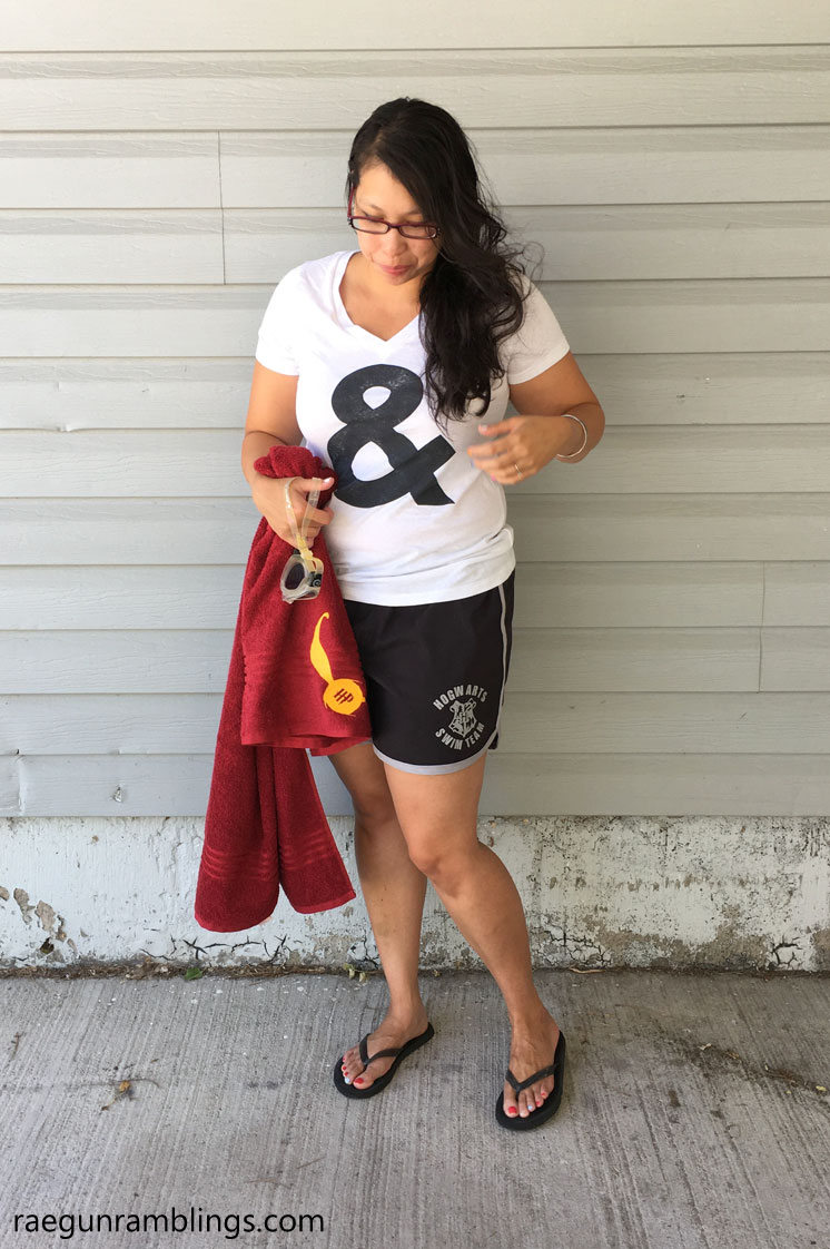 Fabulous swim short sewing pattern for women plus how fun Hogwarts swim team board shorts