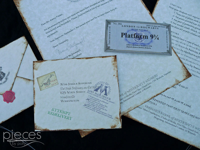 How fun get a personalized Hogwarts acceptance letter. Great gift idea.