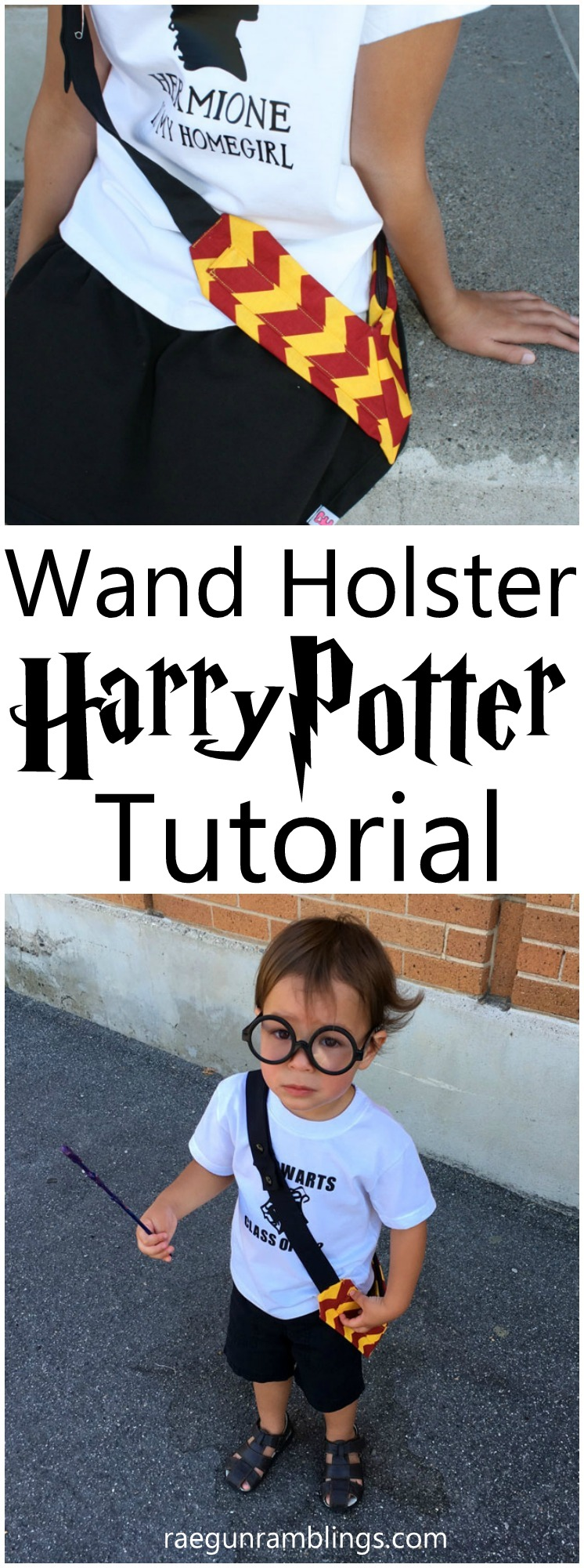 Must make these! DIY Harry Potter Magic wand holster. Sewing tutorial. Fun gift idea.