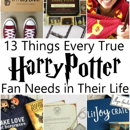 Great Harry Potter gift guide full of things every harry potter fan needs. Super unique ideas