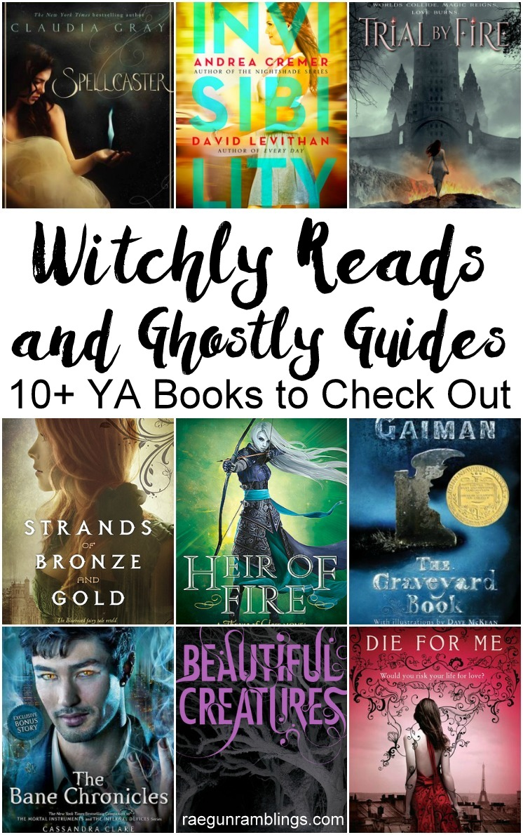 Great YA reading list full of witch and ghost books.