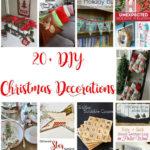 20-diy-christmas-decorations and craft tutorials