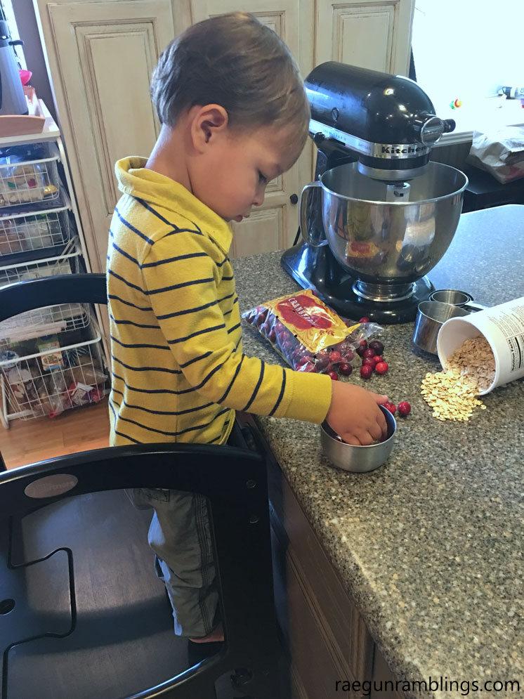 Great toddler kitchen helper.