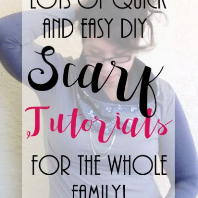 Loads of AWESOME Scarf Tutorials