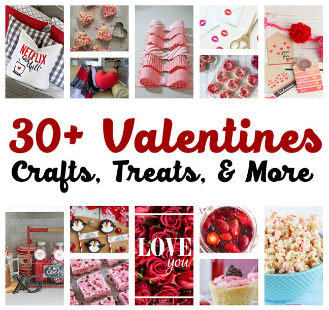 Great recipes crafting projects and more perfect for Valentine's Day
