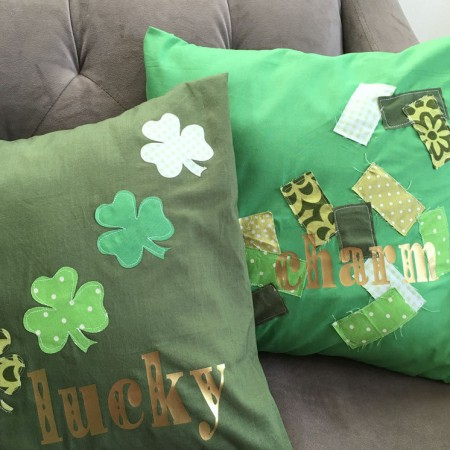 love this sewing tutorial. Easy DIY st. Patrick's day decor