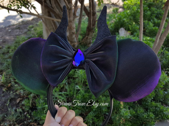 maleficient ears great for disneyland trips