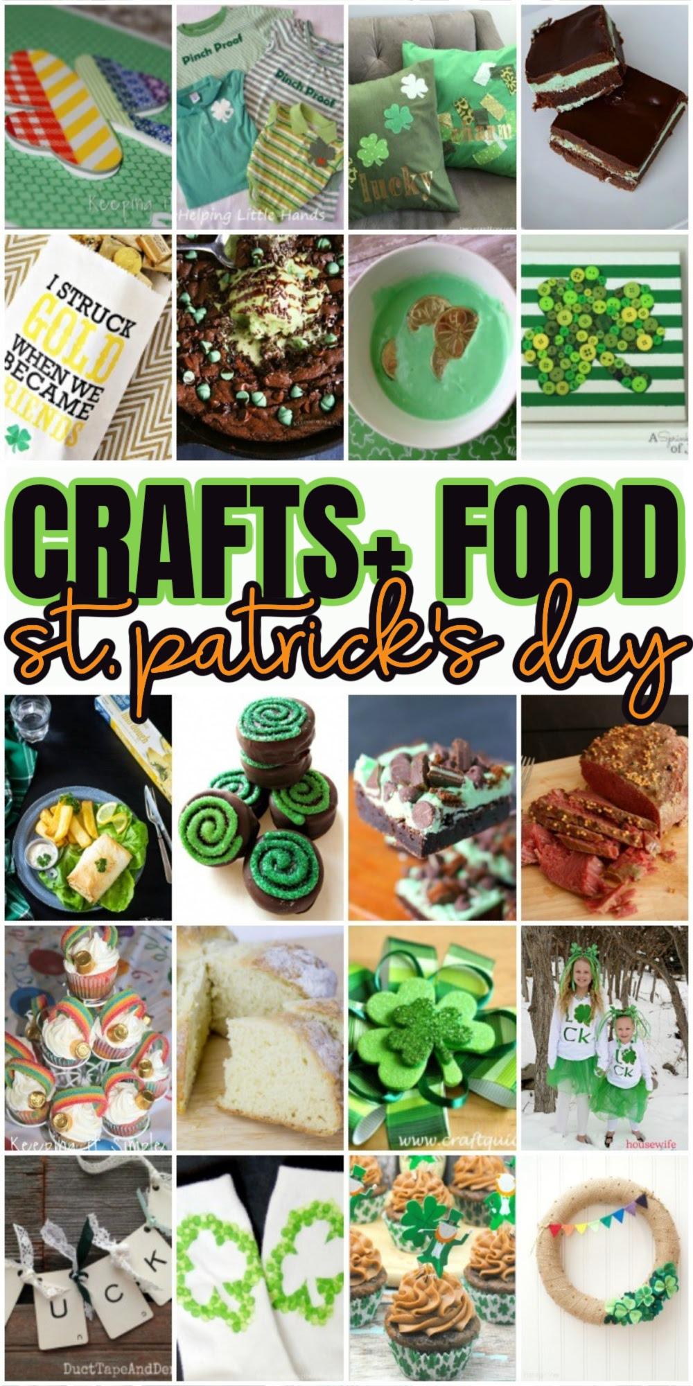 Tons of recipes craft tutorials party ideas and kid activities perfect for St. Patrick's Day