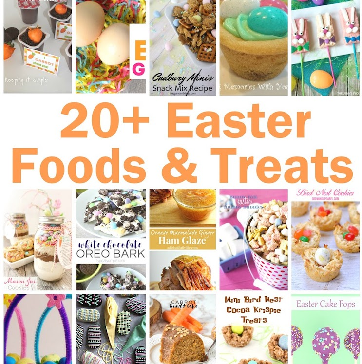 20+ Easter Foods and Treats