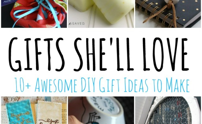 Diy Gift Ideas She Will Love And Block Party Rae Gun