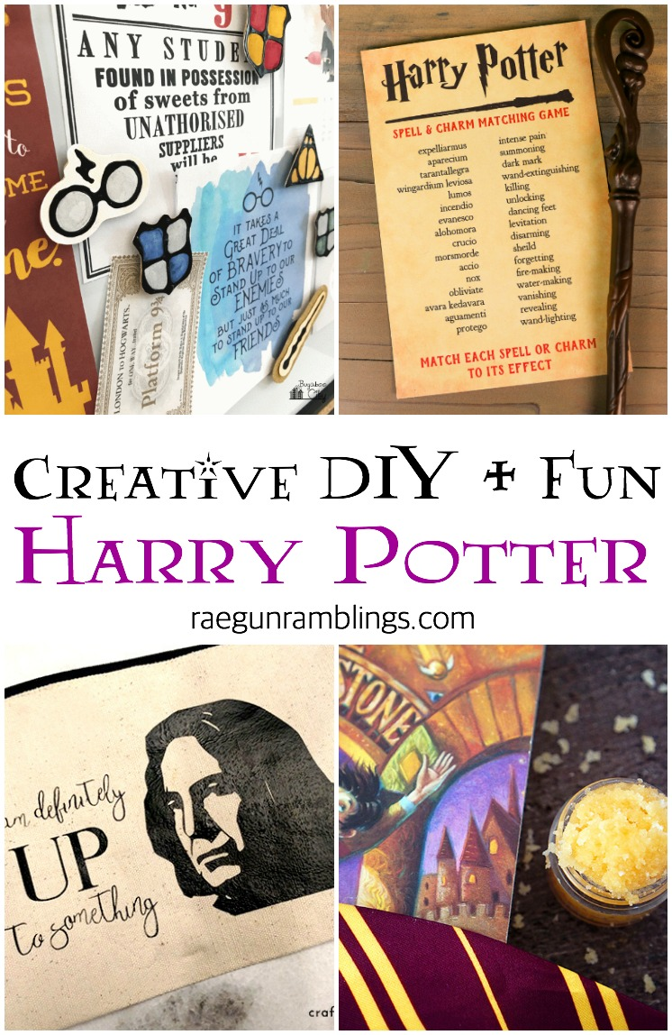 Harry Potter Game Printables and other fun DIY ideas