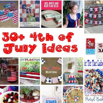 30+ Patriotic Food and Crafts Ideas and Block Party