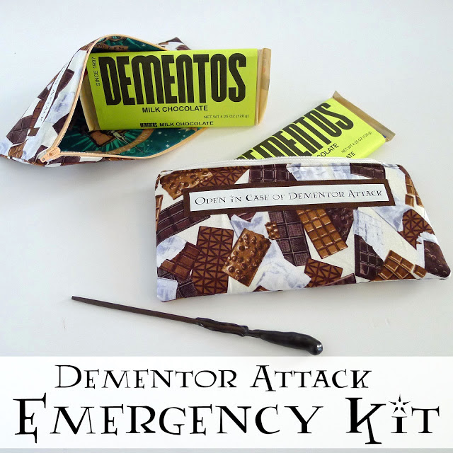 dementor attack emergency kit harry potter gift idea