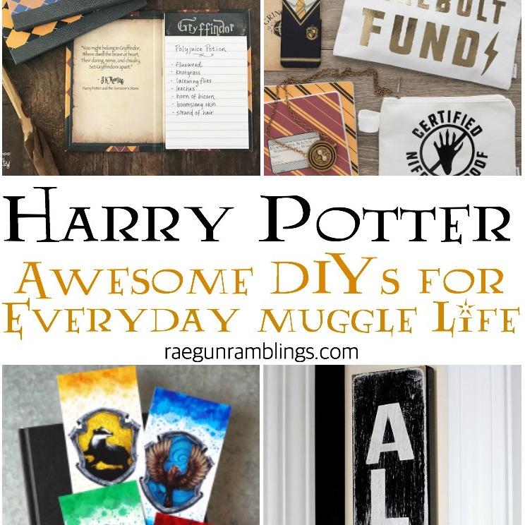 great home and school harry potter tutorials