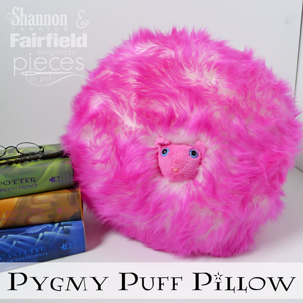 how to make a fun Harry Potter Pygmy-Puff-Pillow