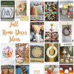 Fantastic DIY Fall Home Decor Ideas Craft tutorials
