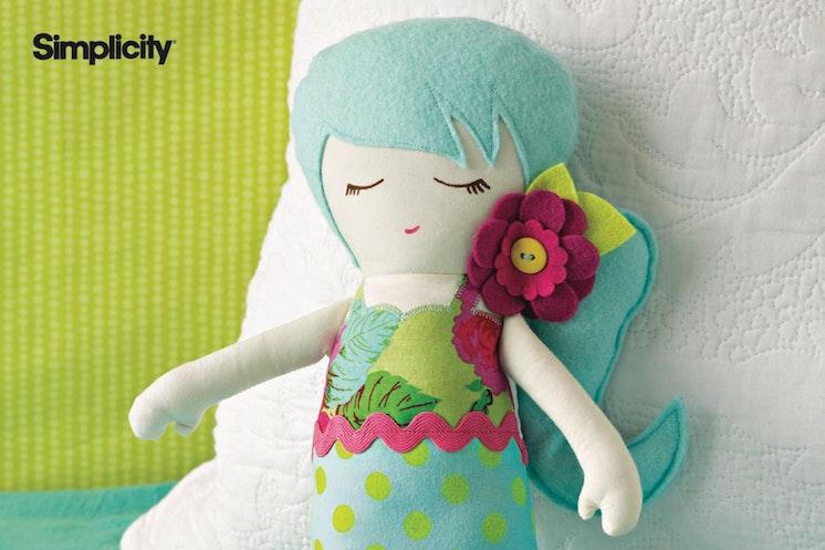 simplicity mermaid stuffie pattern for the cricut maker