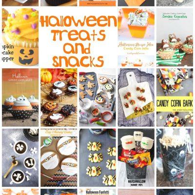 Halloween Treats Ideas and Block Party