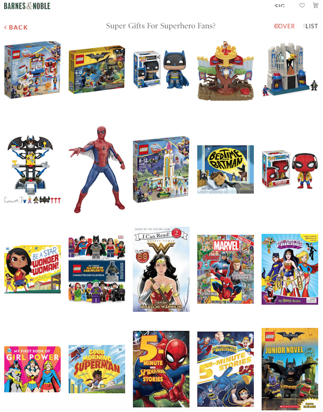 super hero gifts and books for boys girls and kids of all ages