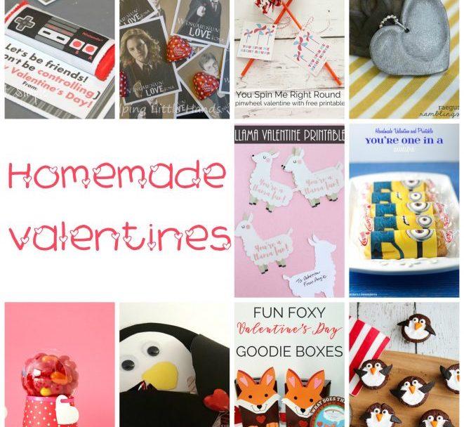 cutest handmade valentines to DIY
