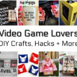 Awesome DIY crafts books and gift ideas for video game fans