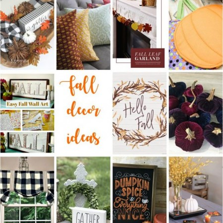 Easy Fall Decor Ideas and Tutorials copy