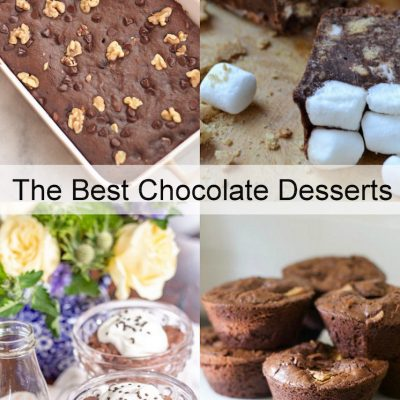 Chocolate Desserts and Block Party