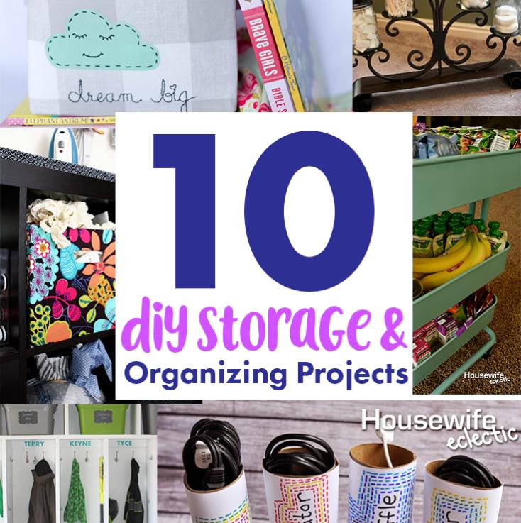 diy ideas for getting organized