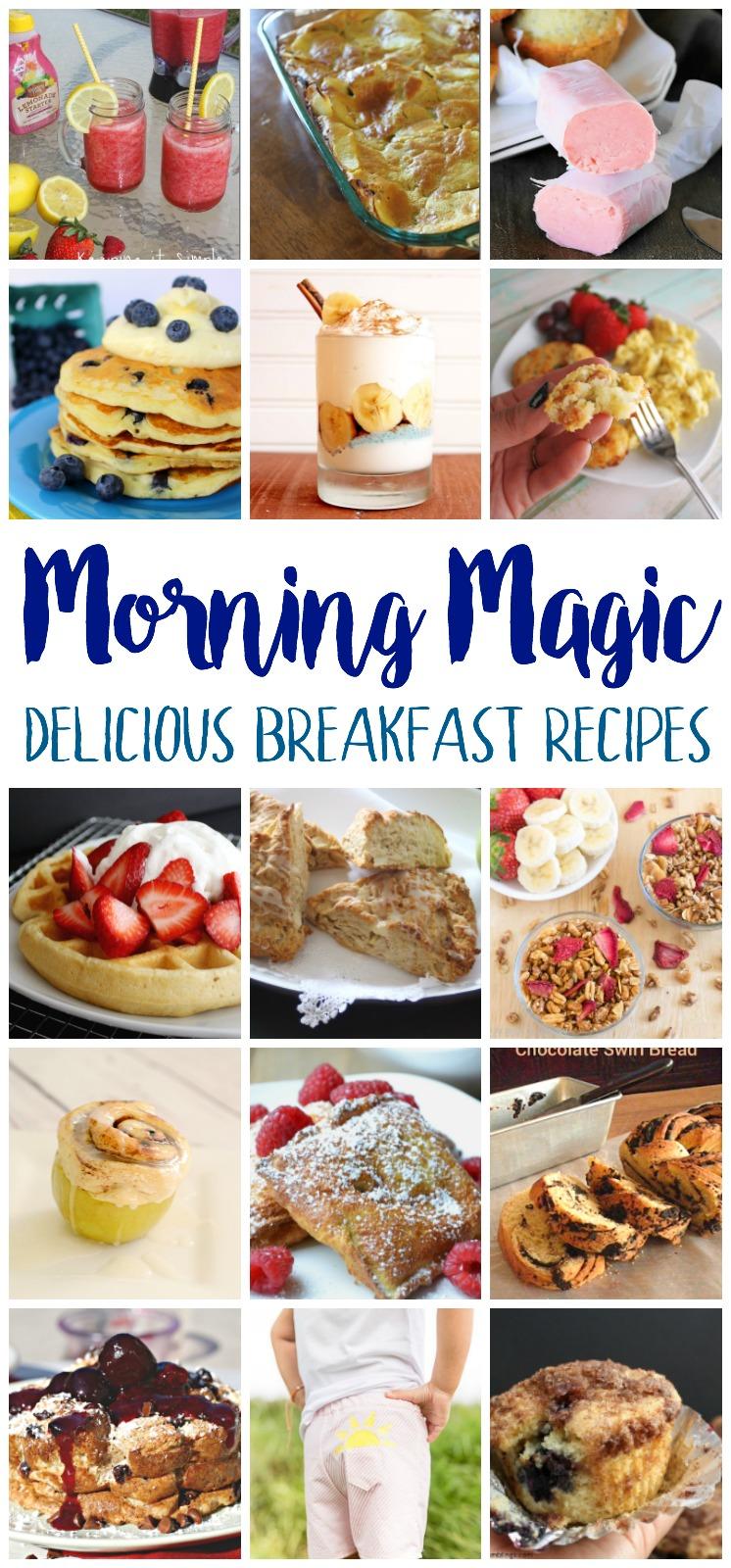 tons of delicious breakfast recipe ideas