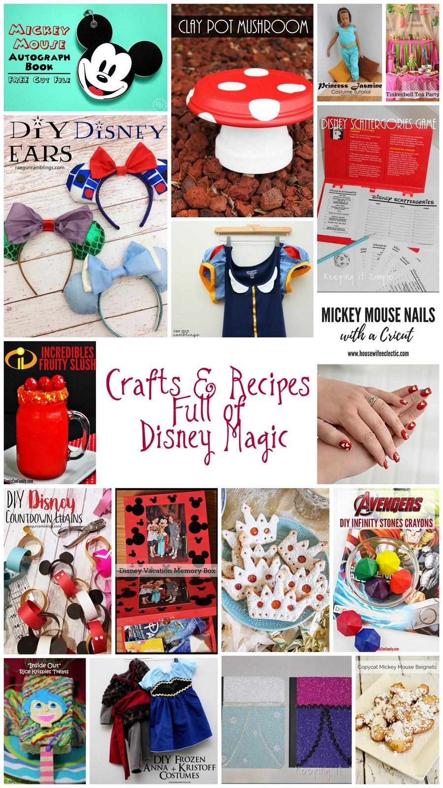 Disney-Crafts and free DIY tutorials