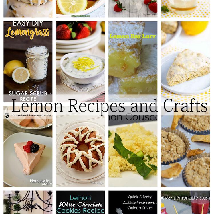 Awesome lemon recieps
