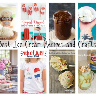 Best Ice Cream Recipes Crafts and Block Party
