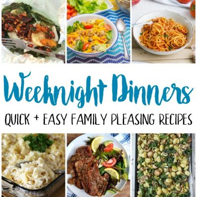 Weeknight Dinner Recipes and Block Party