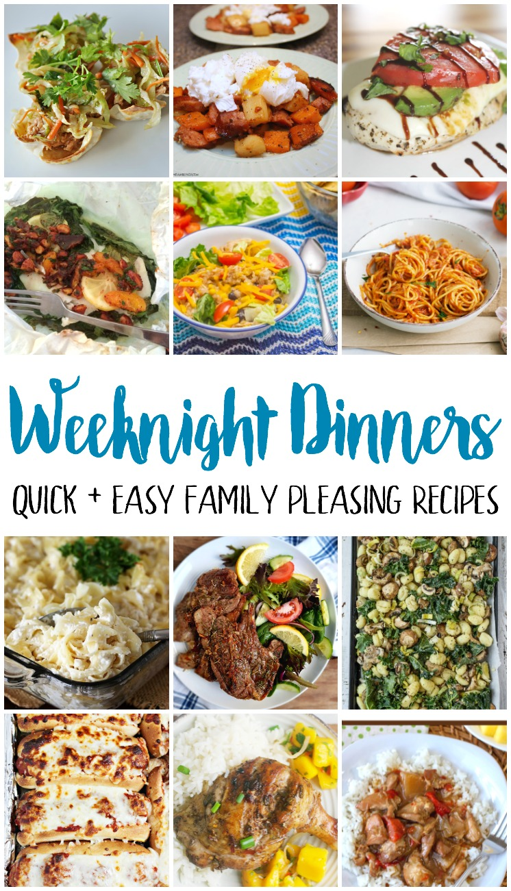 weeknight dinner recipes quick and easy