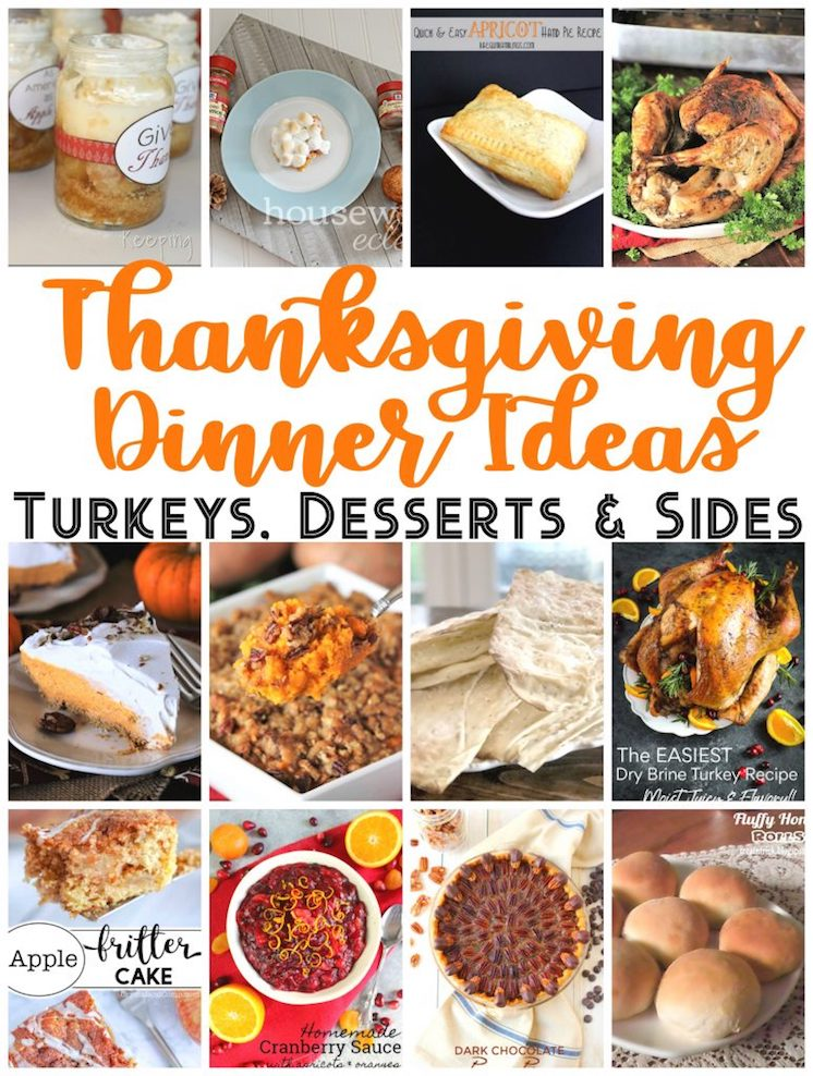 Thanksgiving Dinner Ideas and recipes