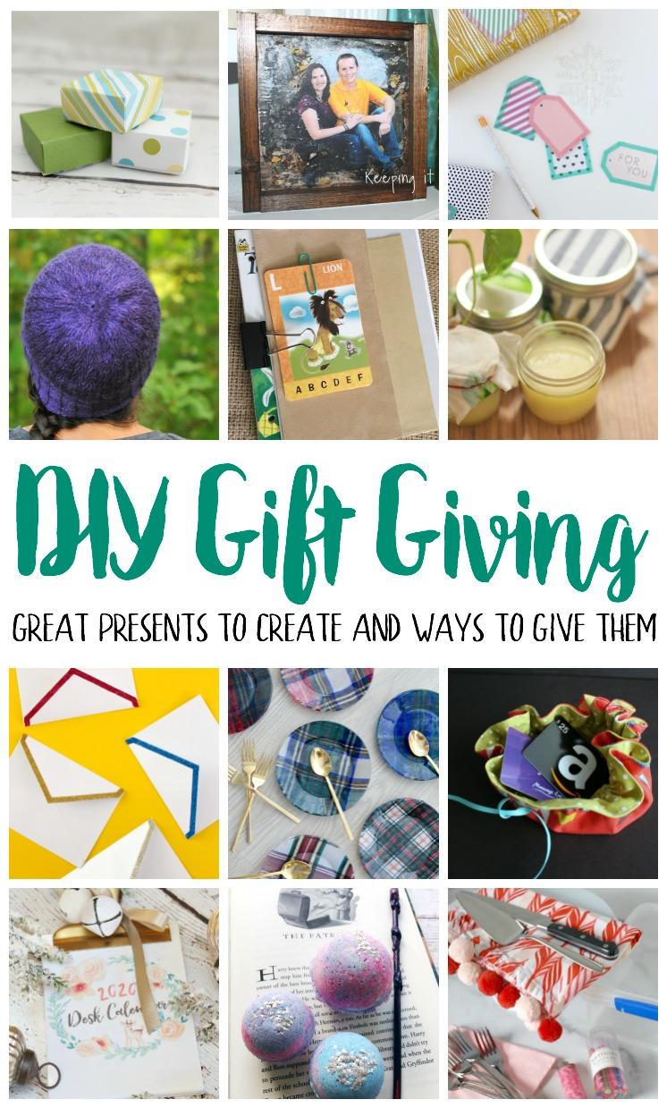 DIY Gift Giving Tutorials