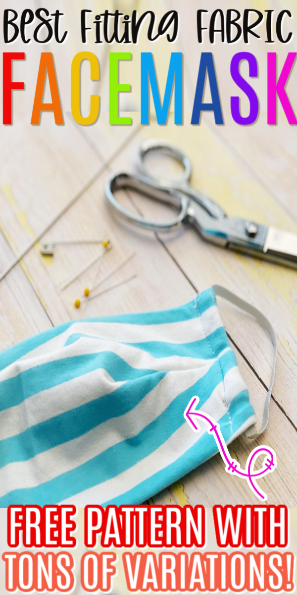 Fabric Face Mask: How To Sew A Fabric Face Mask Free Pattern
