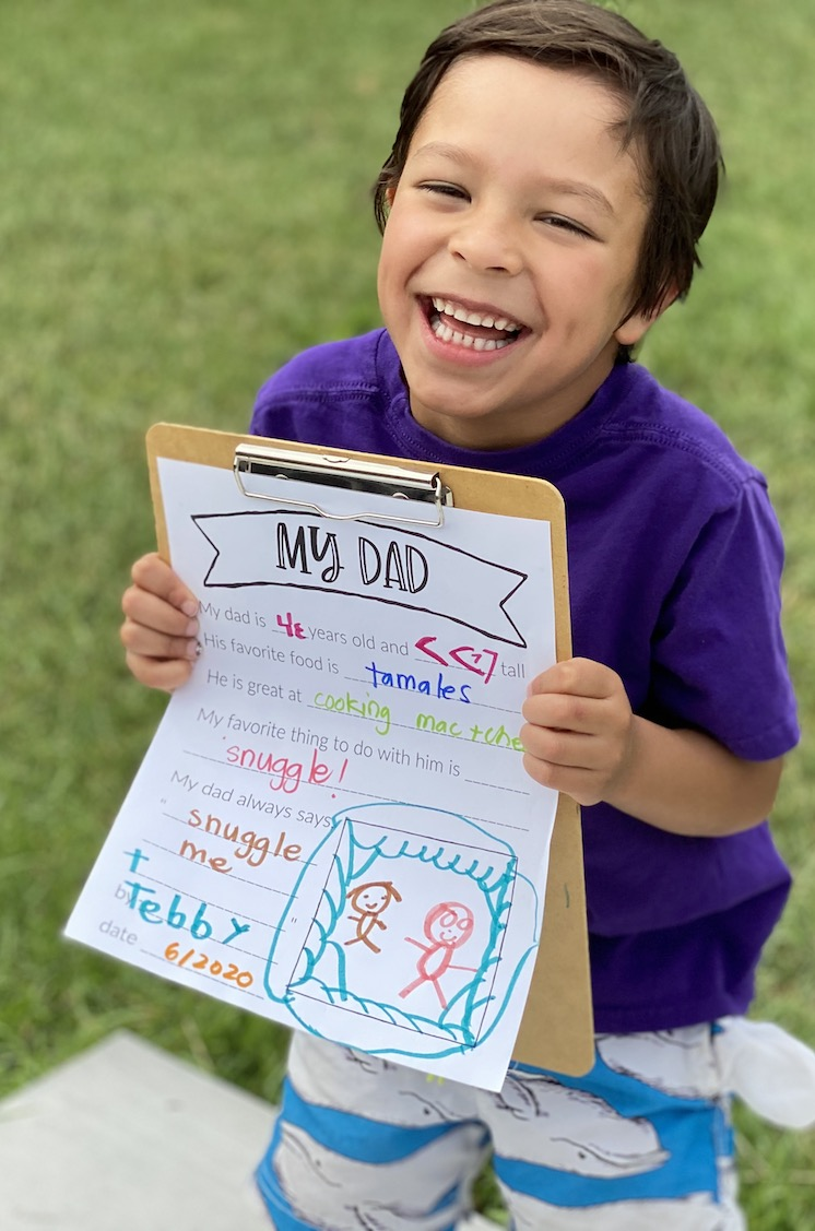 my dad questions for father's day free printable
