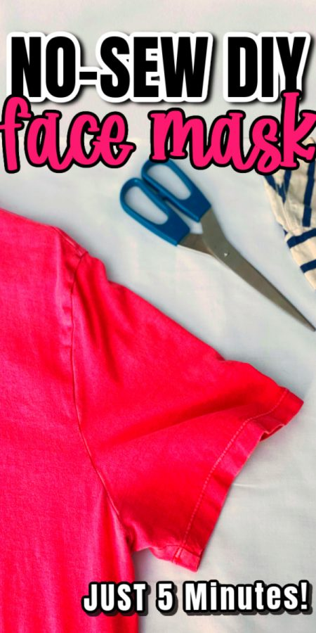 how to make a cloth face mask from a basic tee