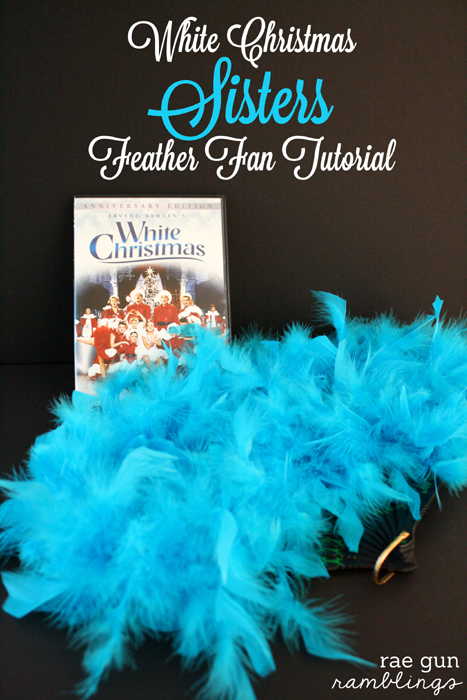 White Christmas Sisters Fans Tutorial